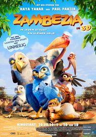 """Filmplakat für """"Zambezia - In jedem steckt ein kleiner Held!"""""""