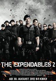 "Filmplakat für ""THE EXPENDABLES 2"""