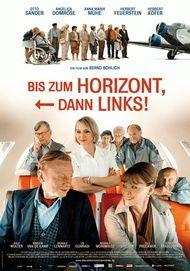 "Movie poster for ""Bis zum Horizont, dann links!"""