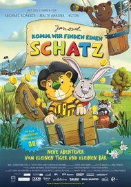 """Movie poster for """"Komm, wir finden einen Schatz"""""""