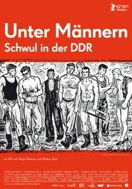 """Filmplakat für """"Unter Männern - Schwul in der DDR"""""""