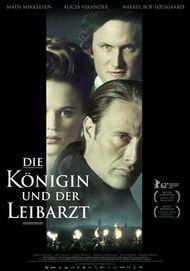 """Movie poster for """"Die Königin und der Leibarzt"""""""