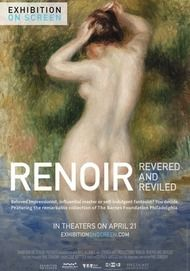 """Movie poster for """"RENOIR: REVERED AND REVILED"""""""