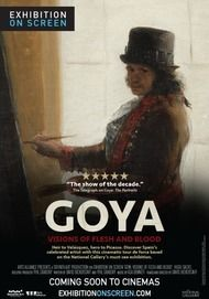 """Movie poster for """"GOYA: VISIONS OF FLESH AND BLOOD"""""""