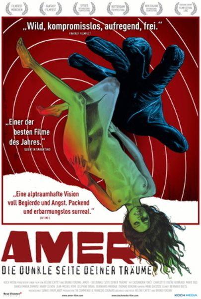 """Filmplakat für """"Amer"""""""