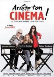 """Movie poster for """"ARRETE TON CINEMA"""""""