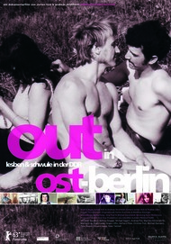 """Movie poster for """"Out in Ost-Berlin"""""""