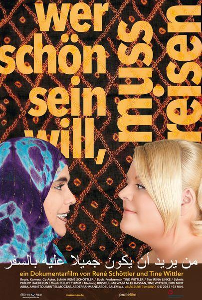 """Movie poster for """"Wer schön sein will, muss reisen"""""""