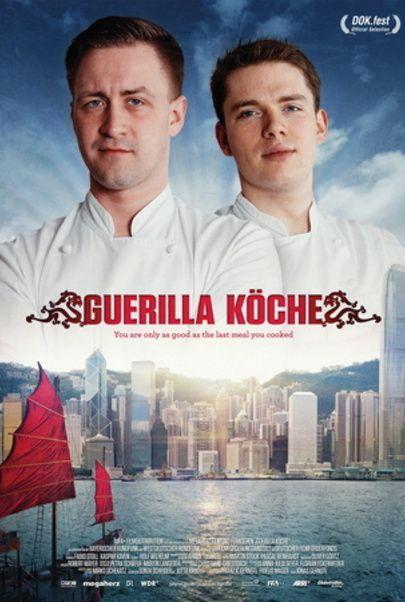 """Movie poster for """"Guerilla Köche"""""""