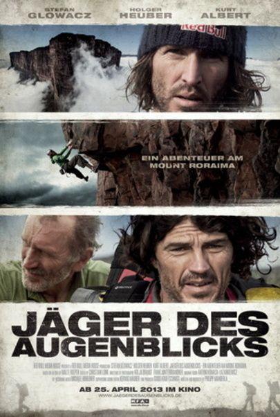 """Movie poster for """"Jäger des Augenblicks - Ein Abenteuer am Mount Roraima"""""""