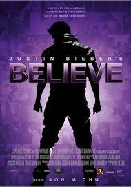 """Filmplakat für """"Justin Bieber's Believe"""""""