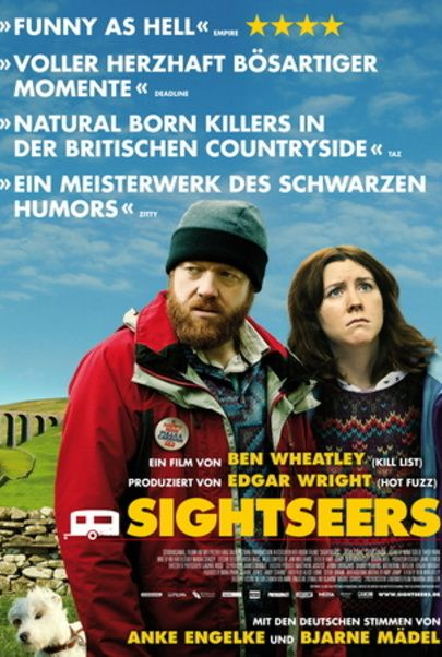 """Movie poster for """"Sightseers"""""""