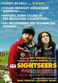 "Movie poster for ""Sightseers"""
