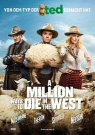 "Filmplakat für ""A MILLION WAYS TO DIE IN THE WEST"""