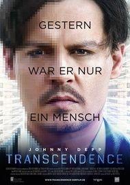 """Filmplakat für """"TRANSCENDENCE"""""""