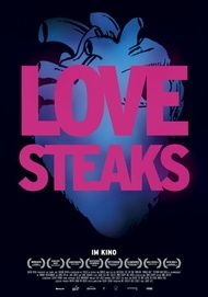 "Movie poster for ""Love Steaks"""