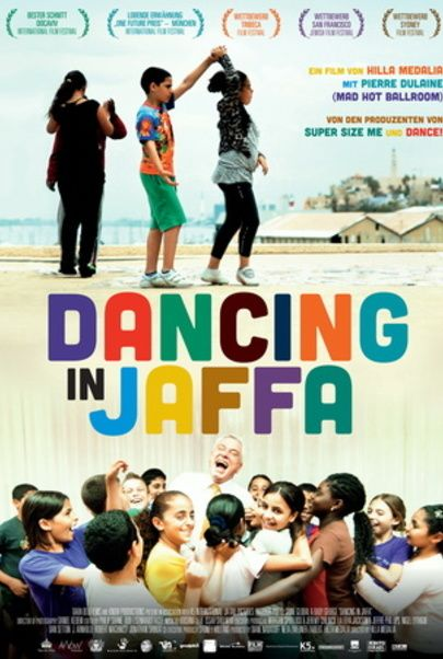 """Movie poster for """"Dancing in Jaffa"""""""