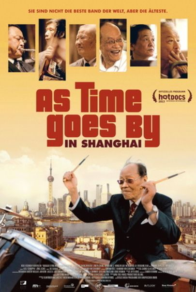 """Filmplakat für """"As Time Goes By in Shanghai"""""""