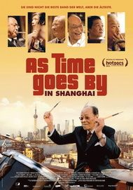 "Filmplakat für ""As Time Goes By in Shanghai"""