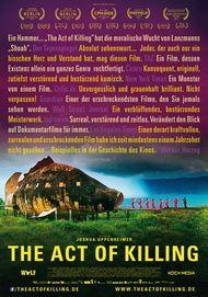 "Filmplakat für ""The Act of Killing"""