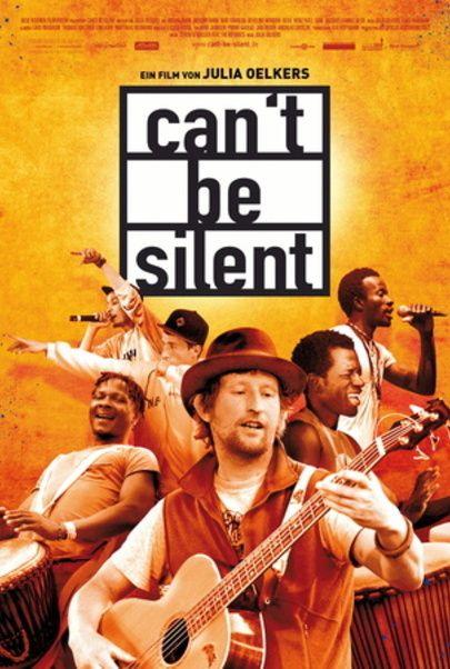 """Filmplakat für """"Can't Be Silent"""""""