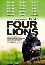 """Filmplakat für """"Four Lions"""""""