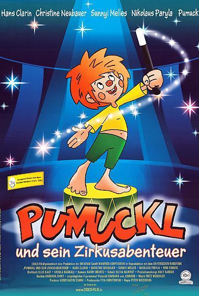 """Filmplakat für """"PUMUCKL UND SEIN ZIRKUSABENTEUER"""""""