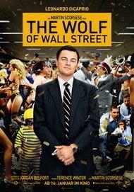 "Filmplakat für ""THE WOLF OF WALL STREET"""