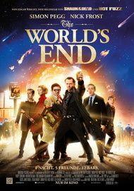 """Filmplakat für """"THE WORLD'S END"""""""
