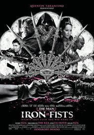 """Filmplakat für """"The Man with the Iron Fists"""""""