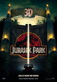 "Filmplakat für ""Jurassic Park 3D"""