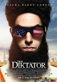 """Filmplakat für """"Der Diktator"""""""