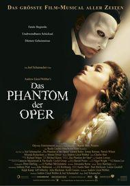 """Filmplakat für """"Das Phantom der Oper"""""""