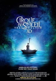 """Filmplakat für """"Cirque du Soleil: Traumwelten"""""""