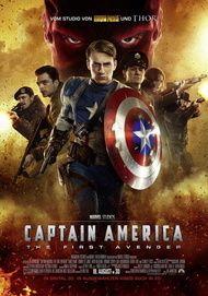 """Filmplakat für """"Captain America: The First Avenger"""""""