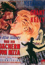 """Filmplakat für """"Über den Dächern von Nizza"""""""