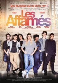 """Movie poster for """"LES AFFAMES"""""""