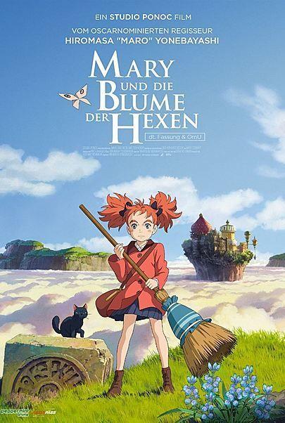 """Filmplakat für """"Mary und die Blume der Hexen"""""""