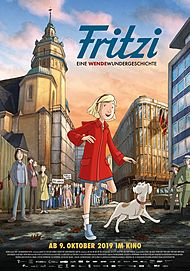 """Filmplakat für """"FRITZI – EINE WENDEWUNDERGESCHICHTE"""""""