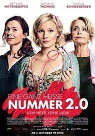 """Movie poster for """"EINE GANZ HEISSE NUMMER 2.0"""""""