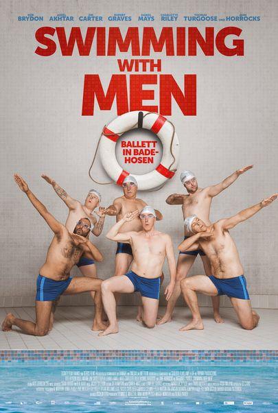 """Filmplakat für """"Swimming with Men"""""""