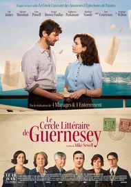 """Movie poster for """"THE GUERNSEY LITERARY AND POTATO PEEL PIE SOCIETY"""""""