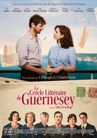 """Affiche du film """"LE CERCLE LITTERAIRE DE GUERNESEY"""""""