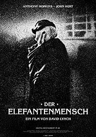 """Movie poster for """"THE ELEPHANT MAN"""""""