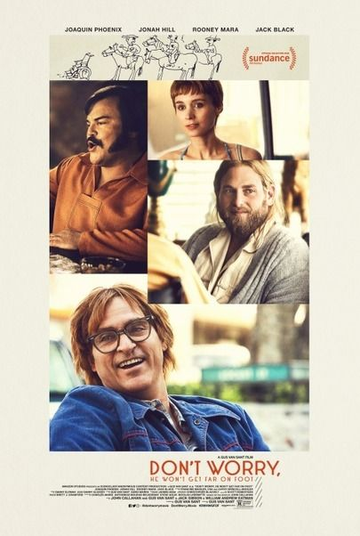 """Movie poster for """"DON'T WORRY HE WON'T GET FAR ON FOOT"""""""