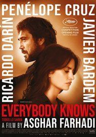 """Movie poster for """"EVERYBODY KNOWS"""""""