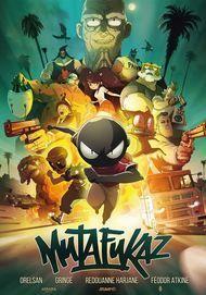 "Filmplakat für ""MUTAFUKAZ"""