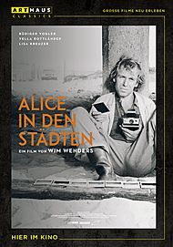 """Movie poster for """"Alice in den Städten"""""""