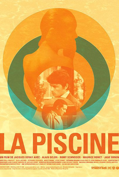 "Movie poster for ""LA PISCINE (4K RESTORATION)"""