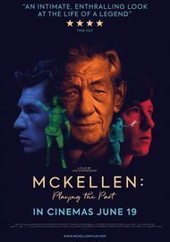 """Movie poster for """"MCKELLEN: PLAYING THE PART"""""""